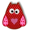 Stickdatei Applikation * sweet OWL *