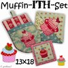 Muffin - ITH - Set Stickdateien 13x18
