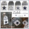 Long Island LABELS ✰ Stickdateien IN THE HOOP 10x10