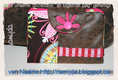 Foto: Nadine von namijda * ITH-Stickdatei: all together bag\\n\\n17.01.2013 11:35