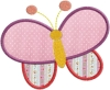 "Stickdatei ""Schmetterling / Butterfly"""