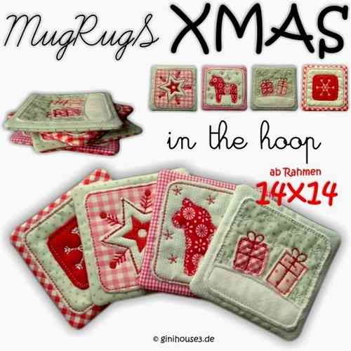 ★ MugRugS - XMAS ★ 14x14