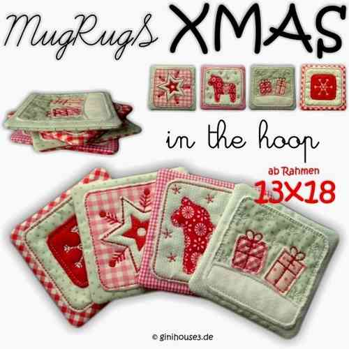 ★ MugRugS - XMAS ★ 13x18