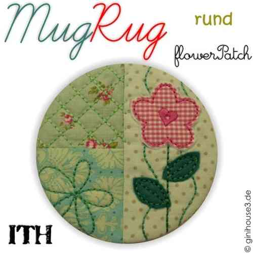 MugRug flower PATCH