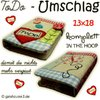 ToDo - Umschlag Patchwork 13x18 Stickdatei IN THE HOOP