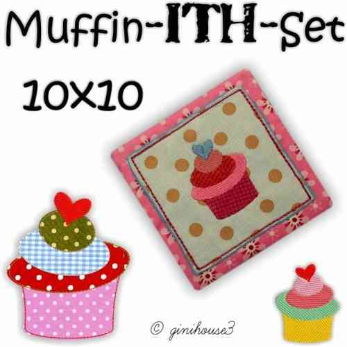 Muffin - ITH - Set Stickdateien 10x10