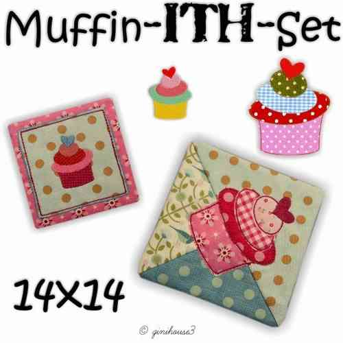 Muffin - ITH - Set Stickdateien 14x14