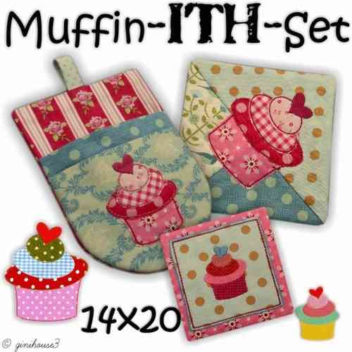 Muffin - ITH - Set Stickdateien 14x20