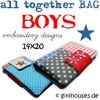 all together BAG ★ BOYS ★ 14x20