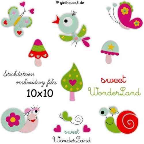 ♥ sweet WonderLand ♥ Stickdateien