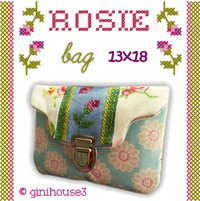 ❤ ROSIE - bag ❤ Stickdatei 13x18 ITH