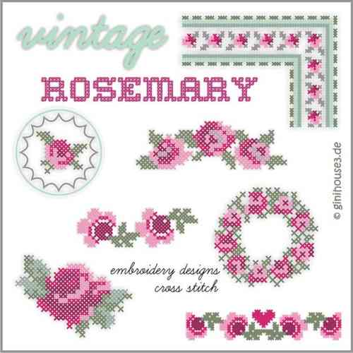 KreuzStich ❤ vintage RoseMary ❤ CrossStitch