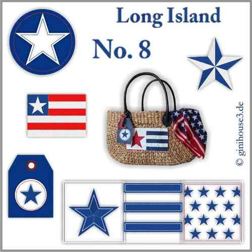 ✪ Long Island ✪ Stickdateien 10x10