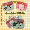 double BAGs ❤ KidS - Love ❤ Stickdateien 10x10 ITH