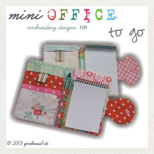 mini OFFICE to go Stickdatei ITH 13x18 und 14x20