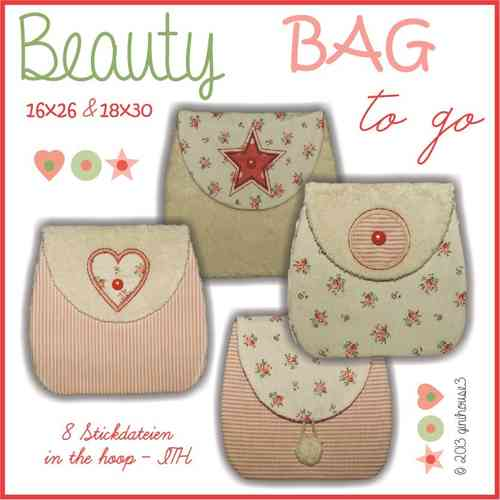 Stickdatei Beauty BAG to go ITH 16x26 und 18x30