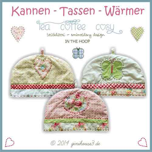 Stickdatei ♥ Kannen-Tassen-Wärmer ♥ IN THE HOOP