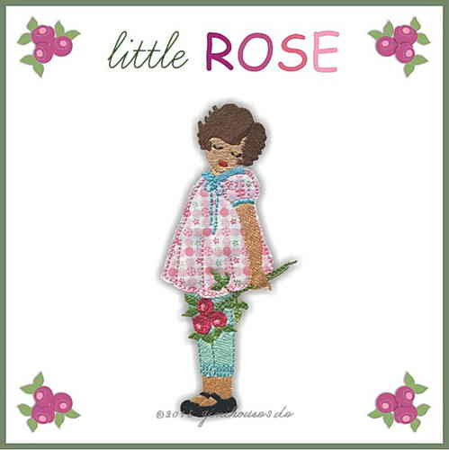 Stickdatei * little ROSÉ * 13x18