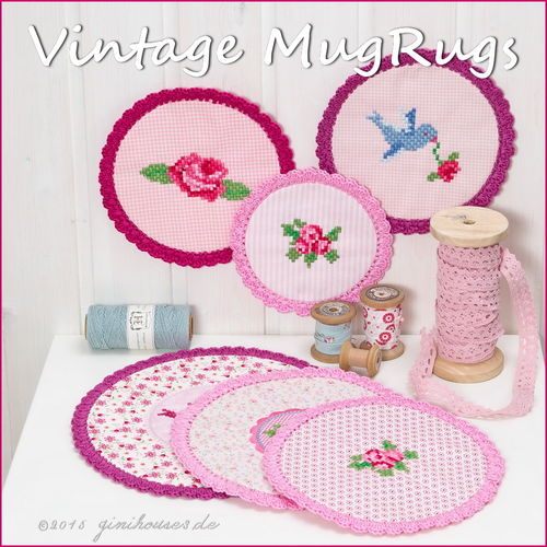 Stickdatei * VINTAGE MugRugS * IN THE HOOP * ITH
