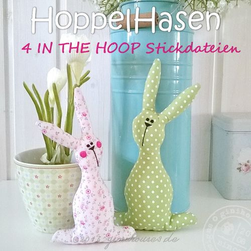 Stickdatei * HoppelHasen * IN THE HOOP * Ostern