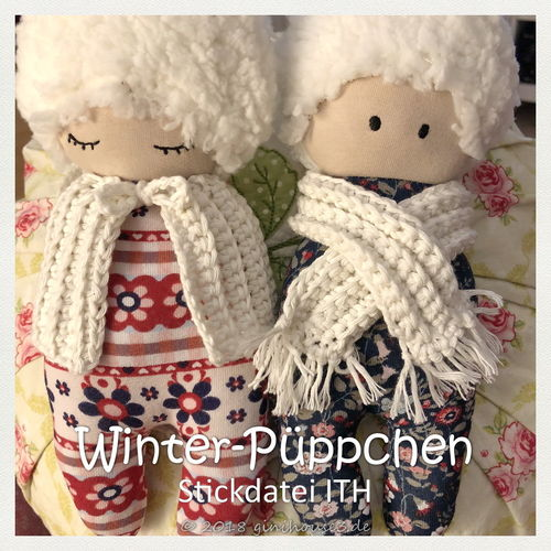 Stickdatei Winter-Puppe ITH